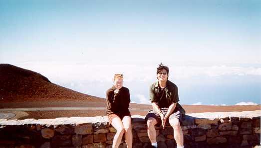 Haleaka - at 10,000 feet elevation