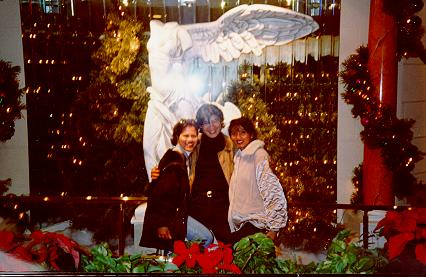 With Eric's Angels.   December 1995 at Tahoe Caesar's Craps Tables is where my longest winning streak at the casinos started.   I haven't been able to lose since.